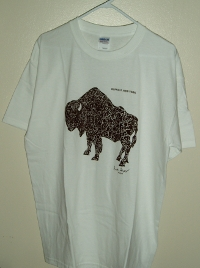 buffalo shirt white