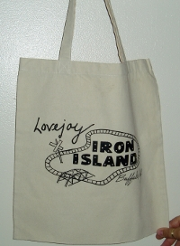 iron island bag small